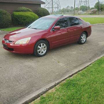 2005 Honda Accord for sale at MOTORSPORTS IMPORTS in Houston TX