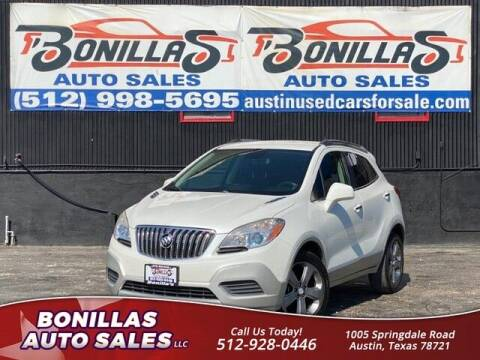 2013 Buick Encore for sale at Bonillas Auto Sales in Austin TX