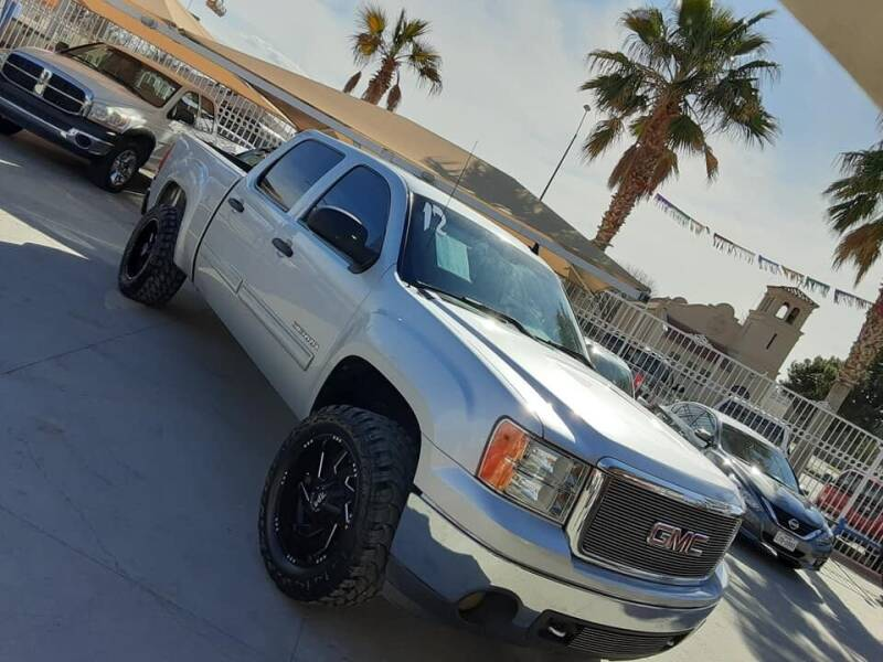 2012 GMC Sierra 1500 for sale at Monaco Auto Center LLC in El Paso TX