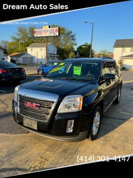 2014 GMC Terrain for sale at Dream Auto Sales in South Milwaukee WI