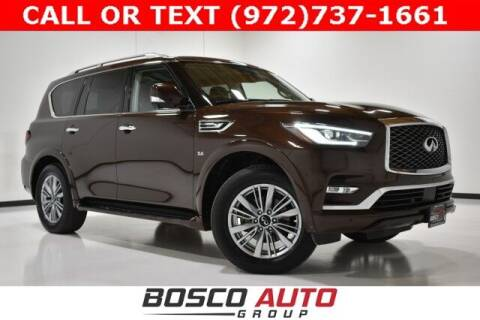2019 Infiniti QX80 for sale at Bosco Auto Group in Flower Mound TX
