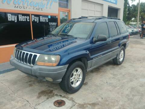 2002 Jeep Grand Cherokee for sale at QUALITY AUTO SALES OF FLORIDA in New Port Richey FL