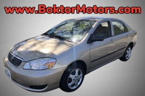 2007 Toyota Corolla for sale at Boktor Motors in North Hollywood CA