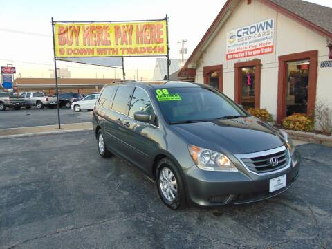 2008 Honda Odyssey for sale at Crown Used Cars in Oklahoma City OK