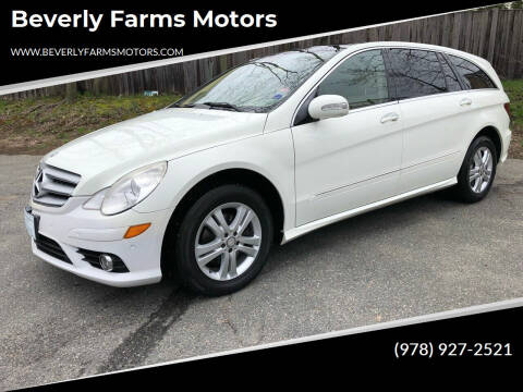 2008 Mercedes-Benz R-Class for sale at Beverly Farms Motors in Beverly MA