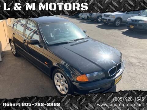 2001 BMW 3 Series for sale at L & M MOTORS in Santa Maria CA