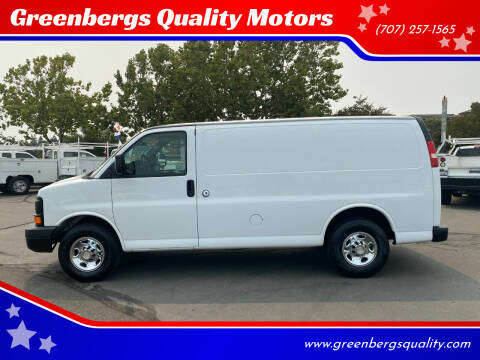 2008 Chevrolet Express Cargo for sale at Greenbergs Quality Motors in Napa CA