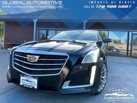 2015 Cadillac CTS for sale at Global Automotive Imports of Denver in Denver CO