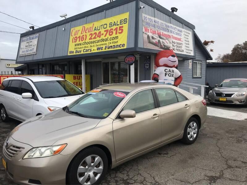 2015 Honda Civic for sale at Car Deal Auto Sales in Sacramento CA