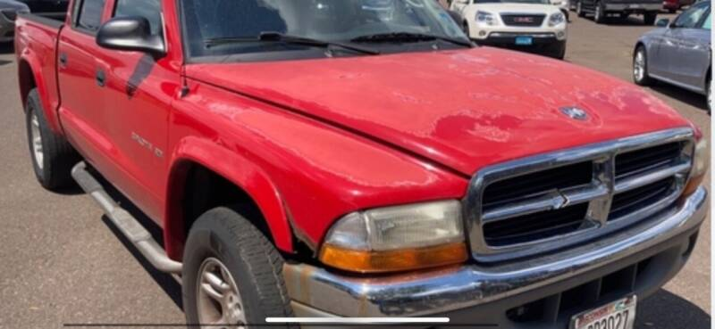 2001 Dodge Dakota for sale at VICTORY LANE AUTO in Raymore MO