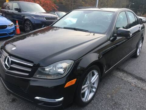 2014 Mercedes-Benz C-Class for sale at Highlands Luxury Cars, Inc. in Marietta GA