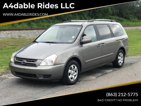 2010 Kia Sedona for sale at A4dable Rides LLC in Haines City FL