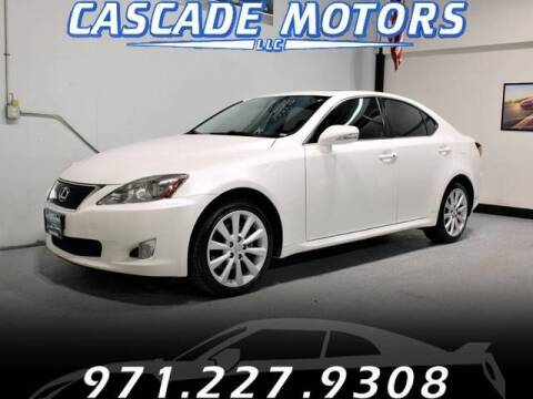 2010 Lexus IS 250 for sale at Cascade Motors in Portland OR
