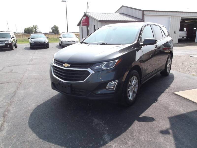 2018 Chevrolet Equinox for sale at Dietsch Sales & Svc Inc in Edgerton OH