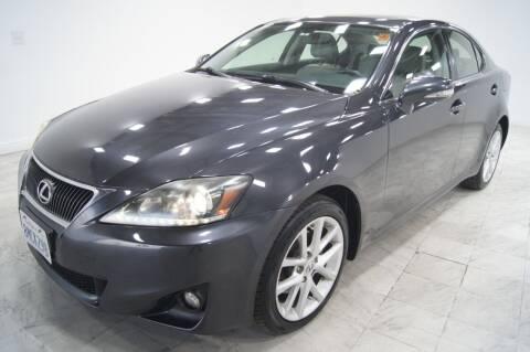 2011 Lexus IS 250 for sale at Sacramento Luxury Motors in Carmichael CA