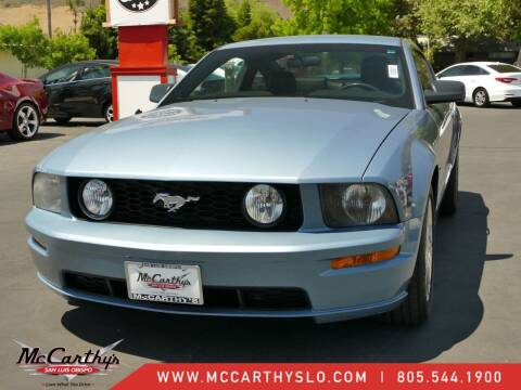2006 Ford Mustang for sale at McCarthy Wholesale in San Luis Obispo CA