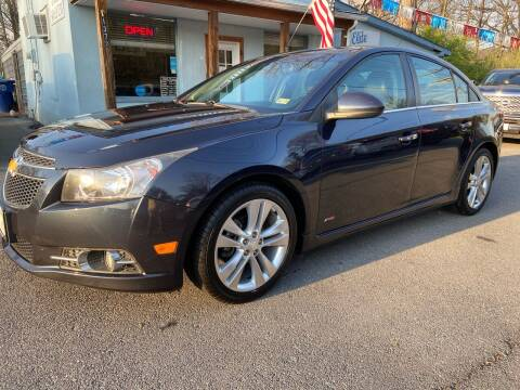 2014 Chevrolet Cruze for sale at Elite Auto Sales Inc in Front Royal VA