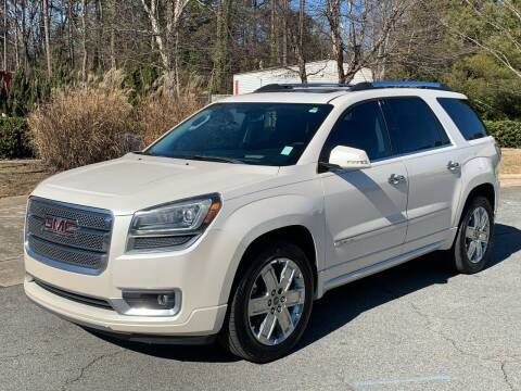 2013 GMC Acadia for sale at Triangle Motors Inc in Raleigh NC
