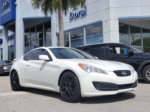 2012 Hyundai Genesis Coupe for sale at DORAL HYUNDAI in Doral FL