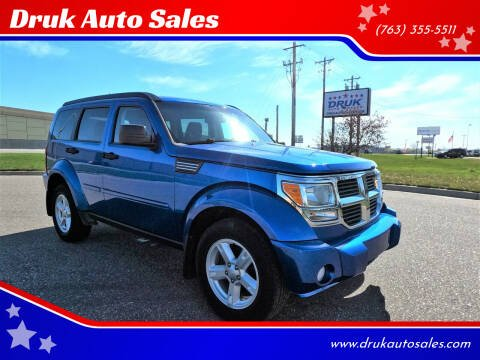2008 Dodge Nitro for sale at Druk Auto Sales in Ramsey MN