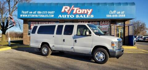 2011 Ford E-Series Wagon for sale at R Tony Auto Sales in Clinton Township MI