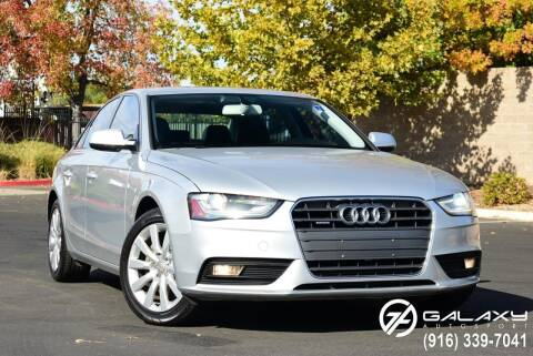 2013 Audi A4 for sale at Galaxy Autosport in Sacramento CA