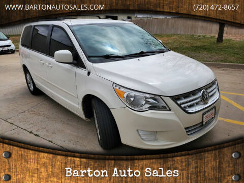 2012 Volkswagen Routan for sale at Barton Auto Sales in Frederick CO