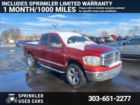 2006 Dodge Ram Pickup 1500 for sale at Sprinkler Used Cars in Longmont CO