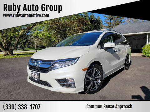 2018 Honda Odyssey for sale at Ruby Auto Group in Hudson OH
