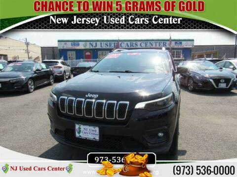 2019 Jeep Cherokee for sale at New Jersey Used Cars Center in Irvington NJ
