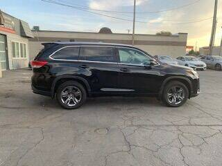 2017 Toyota Highlander for sale at Utah Credit Approval Auto Sales in Murray UT
