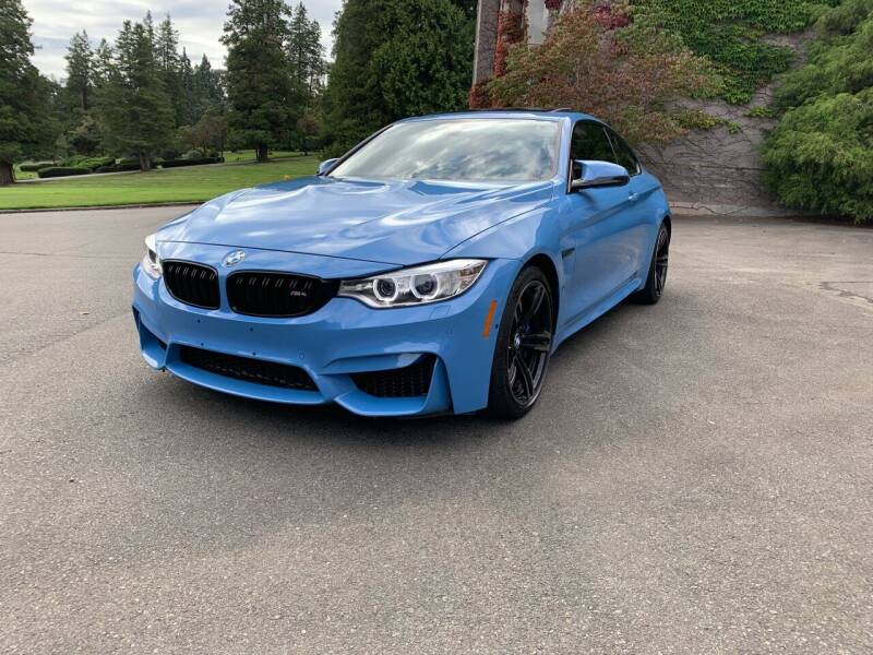 2015 BMW M4 for sale at First Union Auto in Seattle WA
