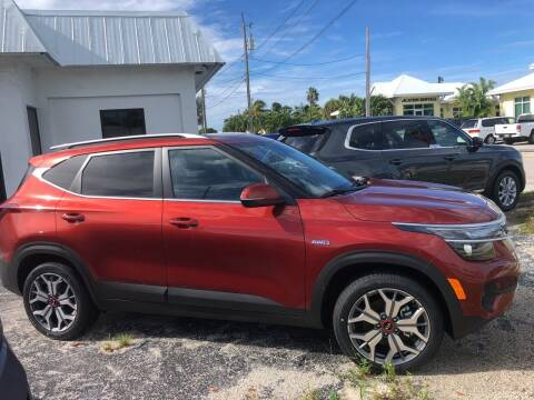 2021 Kia Seltos for sale at Key West Kia - Wellings Automotive & Suzuki Marine in Marathon FL