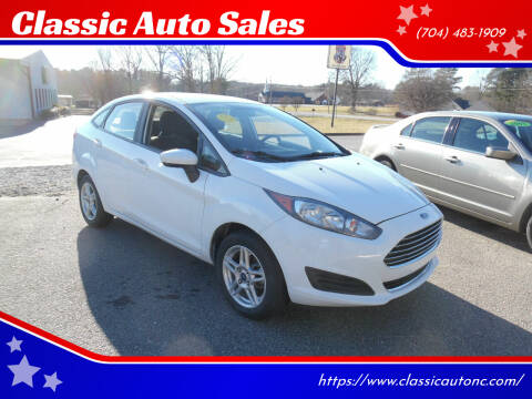 2017 Ford Fiesta for sale at Classic Auto Sales in Maiden NC