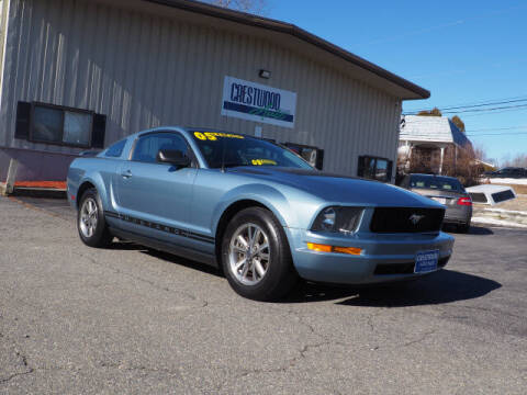 2005 Ford Mustang for sale at Crestwood Auto Sales in Swansea MA