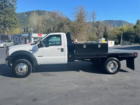 2006 Ford F-550 Super Duty for sale at 3 BOYS CLASSIC TOWING and Auto Sales in Grants Pass OR