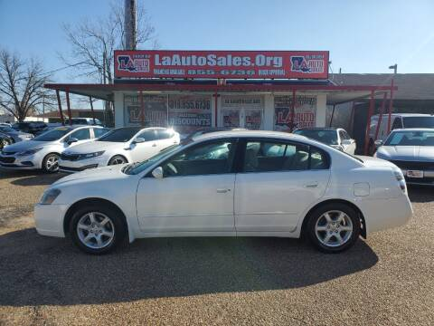 2006 Nissan Altima for sale at LA Auto Sales in Monroe LA