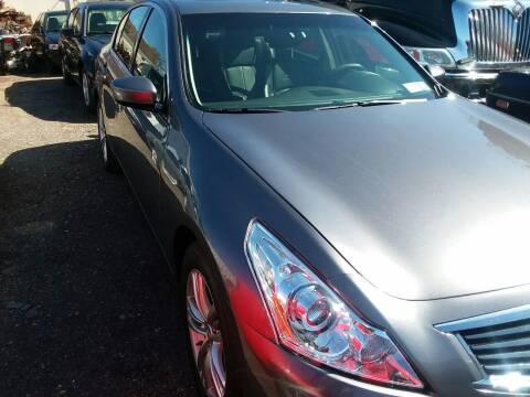 2012 Infiniti G37 Sedan for sale at International Auto Sales Inc in Staten Island NY