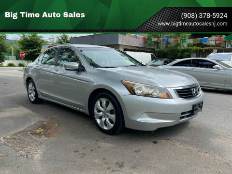 2009 Honda Accord for sale at Big Time Auto Sales in Vauxhall NJ