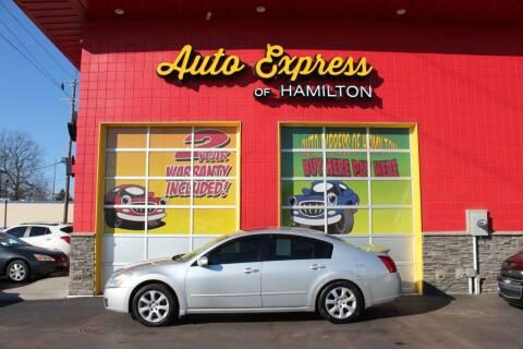 2007 Nissan Maxima for sale at AUTO EXPRESS OF HAMILTON LLC in Hamilton OH