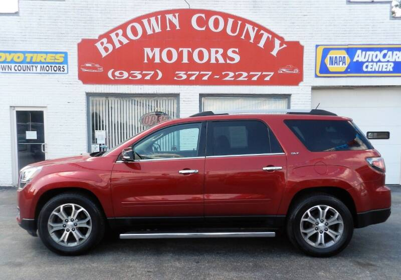 2013 GMC Acadia for sale at Brown County Motors in Russellville OH