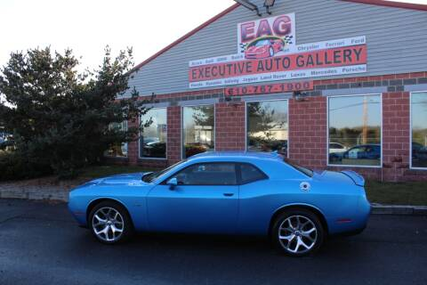 2016 Dodge Challenger for sale at EXECUTIVE AUTO GALLERY INC in Walnutport PA