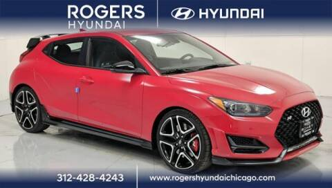 2021 Hyundai Veloster N for sale at ROGERS  AUTO  GROUP in Chicago IL