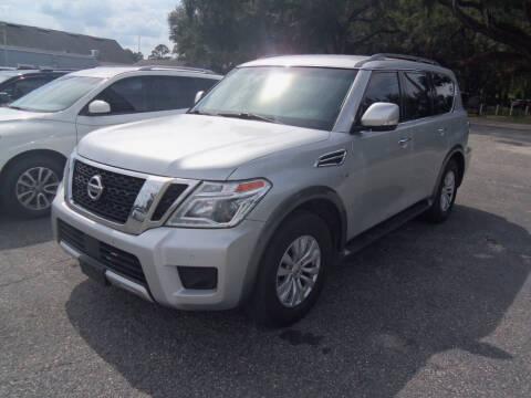 2017 Nissan Armada for sale at ORANGE PARK AUTO in Jacksonville FL