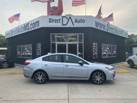 2017 Subaru Impreza for sale at Direct Auto in D'Iberville MS
