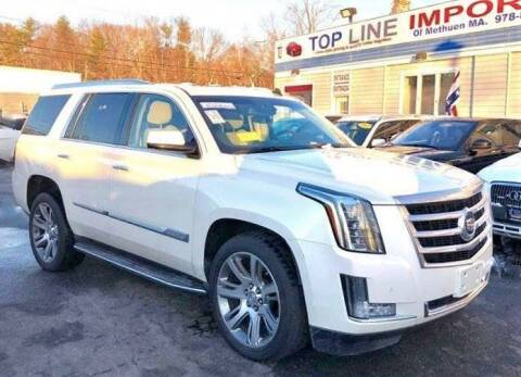 2015 Cadillac Escalade for sale at Top Line Import of Methuen in Methuen MA