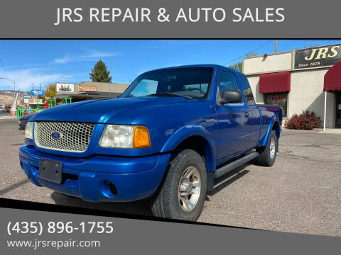 2002 Ford Ranger for sale at JRS REPAIR & AUTO SALES in Richfield UT