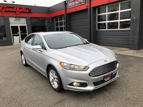 2015 Ford Fusion for sale at Goodfella's  Motor Company in Tacoma WA