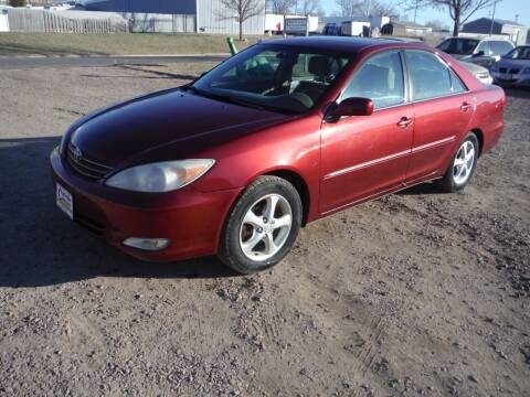 2003 Toyota Camry for sale at Car Corner in Sioux Falls SD
