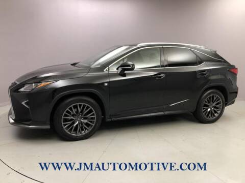 2016 Lexus RX 350 for sale at J & M Automotive in Naugatuck CT